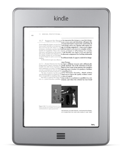 Interaction Design - Kindle